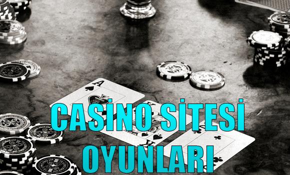 Casino Sitesi Oyunları